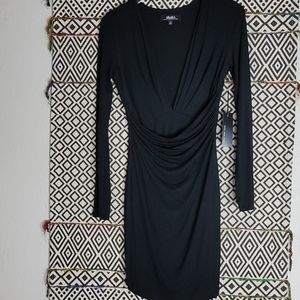 NWT LuLu*s Long Sleeves Drop Gathered Waist Dress